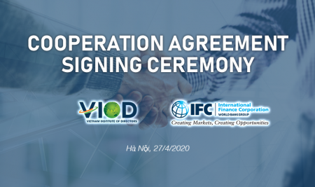 IFC Strengthens Cooperation with Vietnam Institute of Directors, Helping Companies Respond to  COVID-19