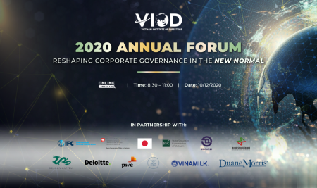 """VIOD 2020 Annual Forum: """"Reshaping Corporate Governance in the New Normal"""""""
