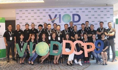 DCP9 opened the Director Certification Program series of the year 2021 and marked VIOD's 3rd anniversary celebration
