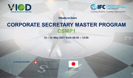 VIOD successfully organized the first Corporate Secretary Master Program (CSMP1) – to raise awareness about the role of the Corporate Secretary in accordance with international practices
