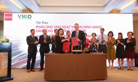 "VIOD & ACCA MoU signing and workshop ""Cyber resilience for the board of directors"""
