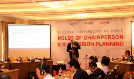 "Press Release: ""Building and Running Effective Boards: ROLES OF CHAIRPERSON & SUCCESSION PLANNING"" – Hanoi"