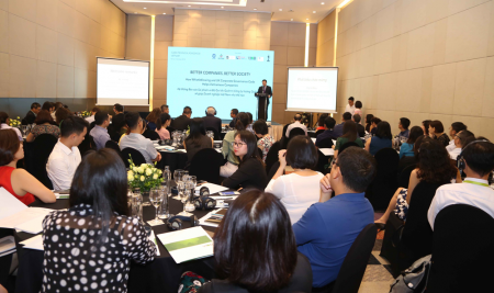 "Press Release ""How the whistle blowing and corporate governance system supports businesses in Vietnam"" workshop"